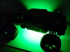 Green Traxxas Rustler Bandit Universal 1/10 RC LED Strip Lights Plug & Play Kit