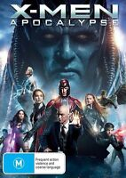 X-Men Apocalypse (DVD, 2016) NEW R4