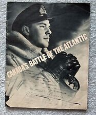 Canada's Battle of the Atlantic 1942 Naval Information Section Publication lsu10