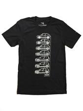 GTI Generation Tee - Black VW Volkswagen T Shirt Screen Printed Golf Mk1 Mk6 Mk7