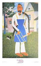 Kasimir Malewitsch Il proprietario della dacia Poster Kunstdruck Bild 90x60cm