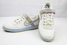 Women's NIKE VANDAL LOW White / Ice Blue Tweed CASUAL 312492-142 Size 11 US