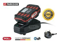 Parkside 20v 2Ah Battery& Charger for Cordless Angle Grinder PWSA 20-Li A1/B2/B3