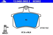 Bremsbelagsatz Scheibenbremse - ATE 13.0460-3602.2