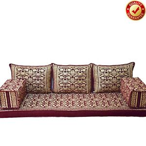 Oriental Floor Sofa Arabic Moroccan Home Decor Living Room Cushions Only Covers