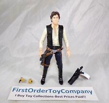 "Star Wars Black Series 6"" Inch Han Solo Loose Figure COMPLETE"