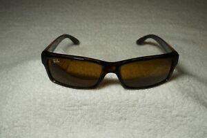 New Authentic RAY-BAN RB4151 710 Havana Tortoise/Brown Sunglasses w/Brown Lenses