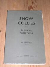 More details for rare show collie & shetland sheepdog dog book 1st 1923 by baskerville