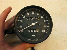 1977 kawasaki kz200 speedo speedometer k404~