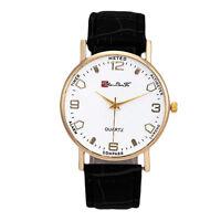 Hombre Reloj de pulsera de cuarzo analógico clásico Negocio Wrist Watch