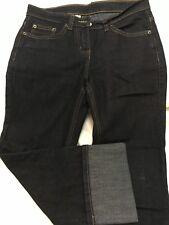 Women's Dark Denim Cropped Jeans from Debenhams, Size 8