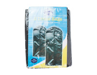 2 x BLACK PACK BAG DRESS CLOTHES BAGS TRAVEL PROTECTOR CARRIER GARMENT BAGS