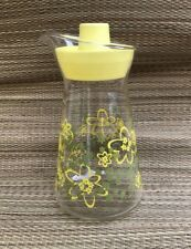 Vintage PYREX CRAZY DAISY SPRING BLOSSOM JUICE Carafe PITCHER with LID