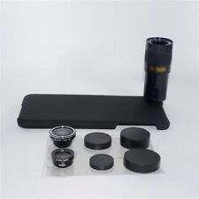 4in1 9x Zoom Telescope Telephoto Marco Camera Lens Hard Case Kit For iPhone 7
