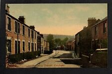 Lanchester - Percy Crescent - colour printed postcard