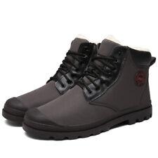 Men's Fashion Winter Snow Boots Plush Outdoor Work Shoes Fur Thicken Warm Boots