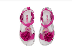 Carter's Shoes Wenna Flamingo T-Strap Sandal Size 6 Toddler Girl NWT