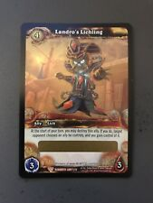 WOW World of Warcraft TCG Unscratched Loot Card Landro's Lichling WOW PET