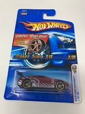 2006 HOT WHEELS FIRST EDITIONS  ** NISSAN SILVIA 515 ** FASTER THAN EVER #3 1:64