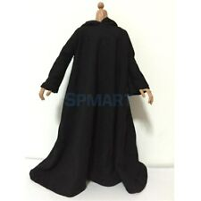 1/6 Scale Clothes Black Cloak Clothing for 12 inch Soldier Doll Toys Action