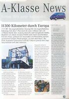 Mercedes A-Klasse News Prospekt 1997 6/97 brochure prospectus broschyr catalog