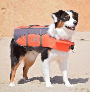 Dog Life Jacket K9 Pursuits Float Coat Sizes XS to XL, Swim Sail Safety, Quality