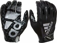 New adidas Youth Sm Adizero Adimoji 7.0 Receiver Glove Blk/Gry