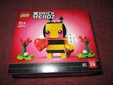 LEGO VALENTINE BEE BRICK HEADZ  40270 - NEW/BOXED/SEALED