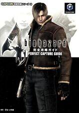 BIOHAZARD 4 GC GUIDE BOOK 2005 JAPAN GAME GAMECUBE RESIDENT EVIL ZOMBIE CAPCOM