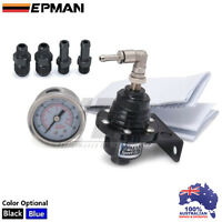 BLACK EPMAN Fuel Pressure Regulator FPR 800 LS1 VK VL VN VP VS VR VT VX VY VE VF