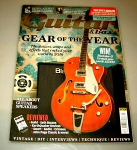 GUITAR & BASS MAGAZINE January 2017