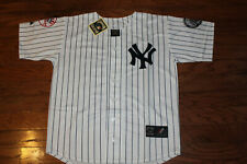New York Yankees #2 Derek Jeter White Home Jersey w/Tags Size L (Adult)