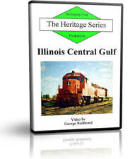 Illinois Central Gulf, ICG Late Paint - Diverging Clear Train Railroad DVD