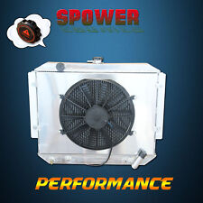 Aluminum Radiator+Fan Shroud For Mitsubishi Pajero NA NB NC ND NE NF NG NH NK NJ