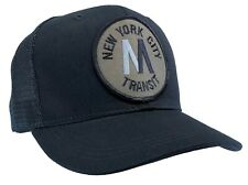 MTA Hat Dark Blue Trucker Cap New York City Transit