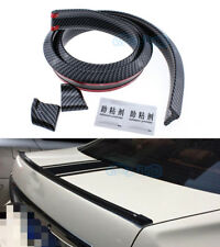 No Drilling Rear Empennage Trunk Boot Spoiler Wing Body Kit Trim For Honda Acura