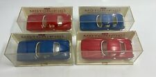 Vintage 4 LOT - IDEAL MOTORIFIC CORVETTE SLOT CAR BODY MIC..