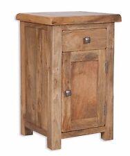 Odisha Living 1 Drawer 1 Door Bedside Cabinet Solid Mango Wood Fully Assembled