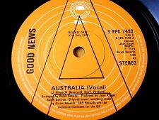 "GOOD NEWS - AUSTRALIA   7"" VINYL PROMO"