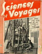 Sciences et voyages n°680-1932-MINE DE SEL-MERCURE-MEIDOUM-TSELIOUTSIN-PIC  MIDI