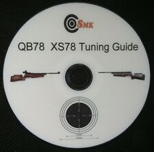 SMK QB78 XS78 MANUAL TUNING GUIDE, PRINTED DVD+FREE TARGETS