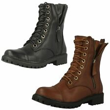 Spot On Synthetic Casual Ankle Boots for Women
