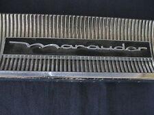 "MERCURY ""MARAUDER ""   GLOVE BOX  BADGE SCRIPT TRIM   C3MB-6206036-C"