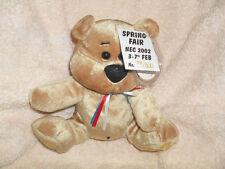 VERY RARE CHUBBLEY BEAR SPRING FAIR NEC 2002 LTD ED ^ JUBILEE ^ UK EXCLUSIVE *