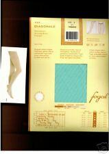 Fogal Strumpfhose, Diagonal Streifen,turquoise    40-42