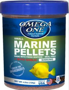 Omega One Garlic Marine Small Pellets 4.5oz
