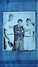 Los Angeles Dodgers Vintage Photo 1963 World Series (Leo Durocher, Don Drysdale)