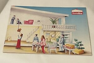 Lundby Dollhouse and Furniture Catalog - 22 pgs Vintage 1987 - Great Condition!