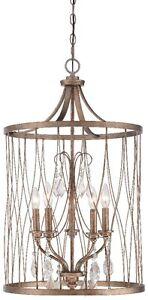 Minka Lavery 4405-581 West Liberty 5-Light Pendant - Olympus Gold