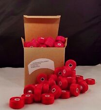 Pre Wound Bobbins M  69 Nylon Bonded  SCARLET One Gross 144ct